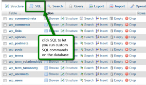 Find and Replace Text in MySQL Database