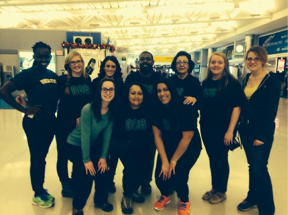 Team OGG in JFK Airport