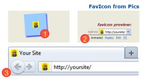 why do web site need favicon
