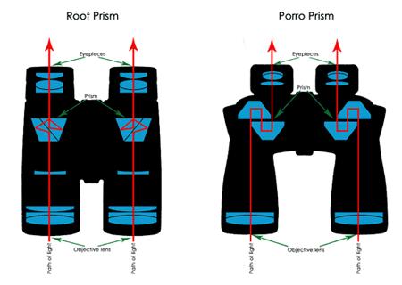 Porro Prism vs. Roof Prism Binoculars
